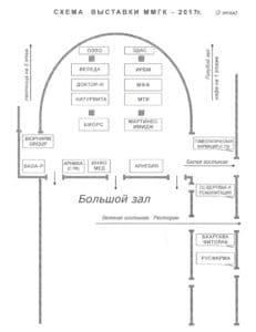 Схема_выставки_ММГК_2017_2 этаж